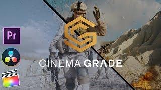 Cinema Grade For Premiere Pro DaVinci Resolve & Final Cut Pro X