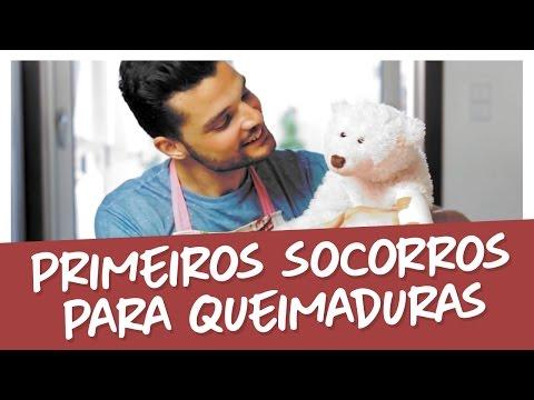 Imagem ilustrativa do vídeo: PRIMEIROS SOCORROS PARA QUEIMADURAS