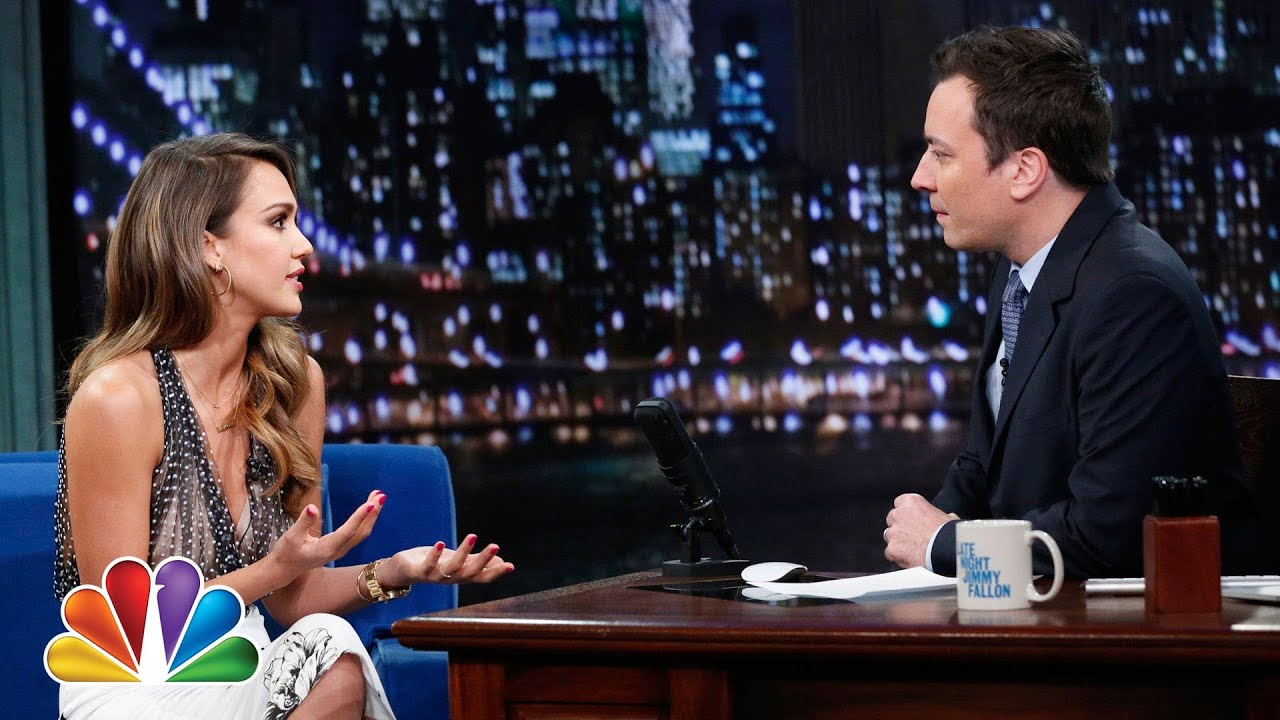 Jessica Alba Is an Entrepreneur (Late Night with Jimmy Fallon) thumbnail