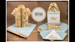 Hawaiian Shirt Card/Gift Card Holder