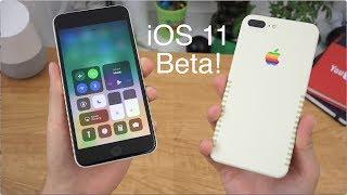 Apple iOS 11 Beta Impressions!