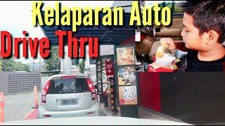 KELAPARAN DI JALAN DRIVE THRU KFC & MCDONALD