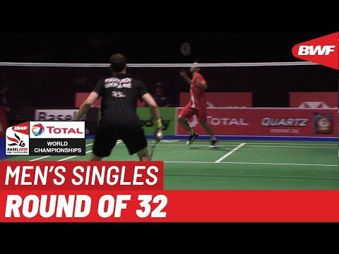 R32 | MS | Artem POCHTAROV (UKR) vs. Kantaphon WANGCHAROEN (THA) [12] | BWF 2019