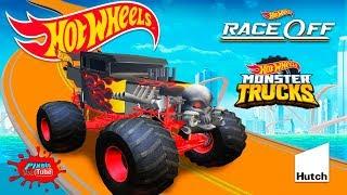 Hot Wheels Race Off Monster Truck Series