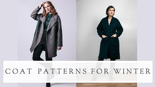 Coat Patterns To Sew This Winter || The Fold Line || Sewing Vlog