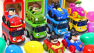 DC minicar and Tayo's exciting car race! Who will win? | PinkyPopTOY