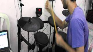 Cradle of Filth - Shat Out Of Hell  Drum cover By:  Jhony Eryc