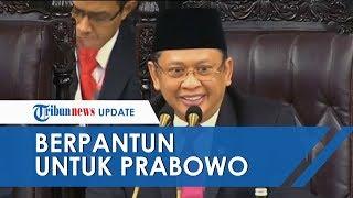 Momen saat Bambang Soesatyo Berpantun soal Prabowo Subianto di Pelantikan Presiden, Hadirin Riuh