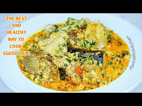 How to cook egusi soup | The best and healthy way to make egusi soup!