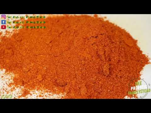 HOW TO MAKE YOUR OWN CAYENNE POWDER