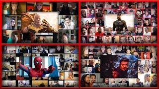 All Reactions Mashups of Marvel (2013-2019)    Avengers Endgame, Black Panther, Iron Man, Thor