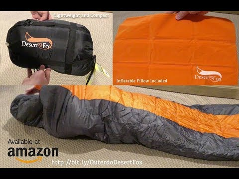 OUTERDO DesertFox Lightweight Waterproof Mummy Sleeping Bag Review