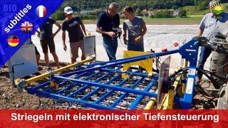 Harrow with electronic depth control (with Paul Treffler)