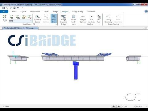 Segmental Balanced-Cantilever Bridge