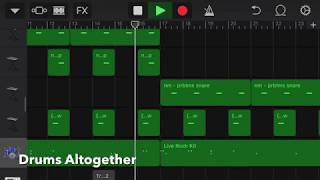 Making An R&B Song With Vocals From Looperman In GarageBand IOS!
