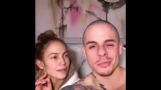 "Jennifer López sin maquillar y su novio cantando ""Starbucks, Yas"" -TodoViral-"