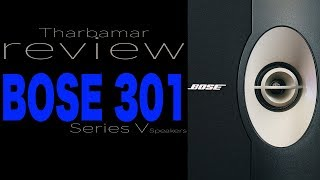 Bose 301 Series V Speaker, Review Video