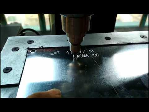 Metal tag Engraving Machine / Steel Ring Stamping Marking