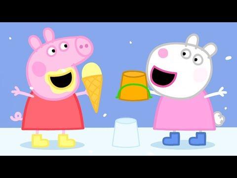 Peppa Pig en Español Capitulos Completos - Sol, mar y nieve - Episodios de Navidad- Pepa la cerdita