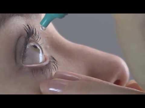 Cómo echarse gotas para los ojos