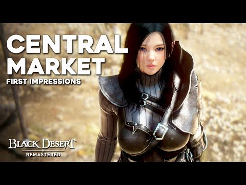 Black Desert's NEW Central Marketplace System First