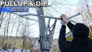 Pullup & Dip im Test: Weltweit erste portable Klimmzugstange | 4K
