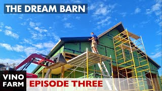 Dream Barn (Part 3) FIRST TIME For Everything - Soffit, Fascia, Metal Brake, Roof Trim