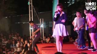 Hari Won   Anh cứ đi đi remix   THPT Hùng Vương 16/1/2017