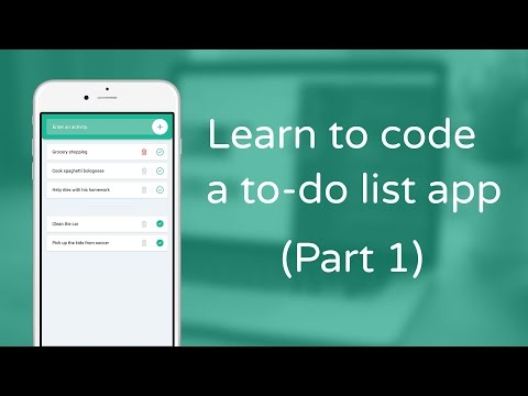 Learn to code a to-do list app in JavaScript – Part 1