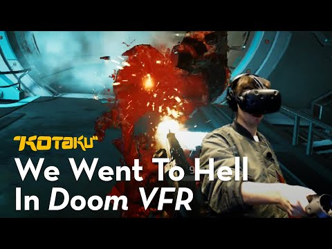 We Played Doom VFR And It Was Sweaty As Heck