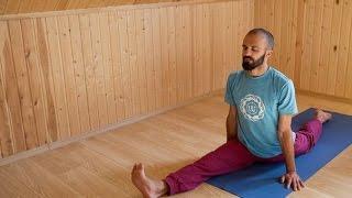 Хатха-йога.Общеукрепляющий комплекс для начинающих