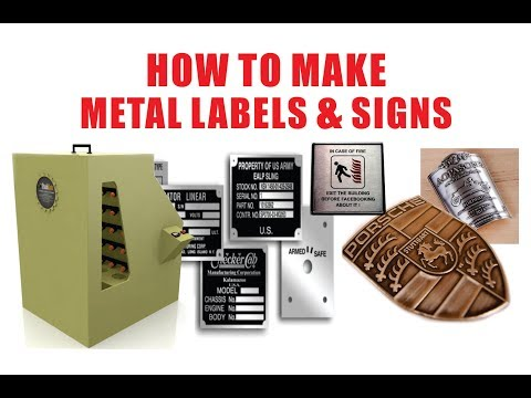 Metal Labels at Best Price in India