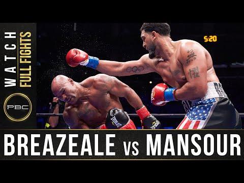 Доминик Бризил - Амир Мансур / Breazeale vs. Mansour
