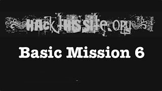 hackthissite basic mission level 6