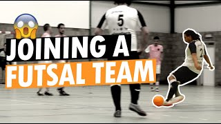 FUTSAL CHALLENGE: Play undercover for futsal team in Belgium!