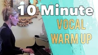 10 minute vocal warm up  |  Free Voice Lessons With Cherish Tuttle