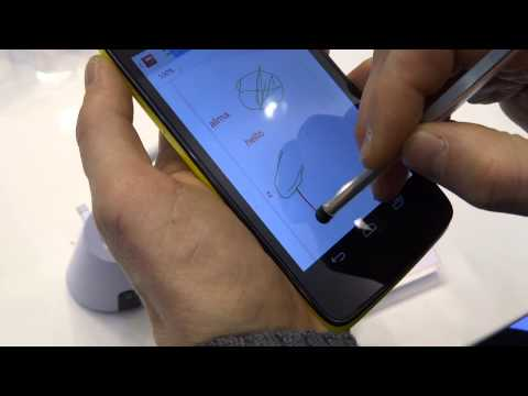 Alcatel One Touch Scribe HD - Anteprima MWC 2013