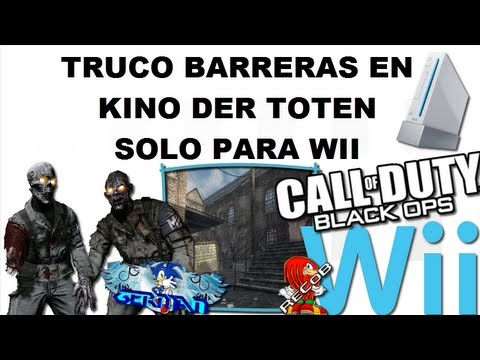 Truco Tutorial Black Ops Zombies Barrier en Kino der Toten - By GermanWii & ReCoB
