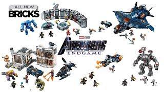 Lego Avengers Endgame Compilation Of All Sets