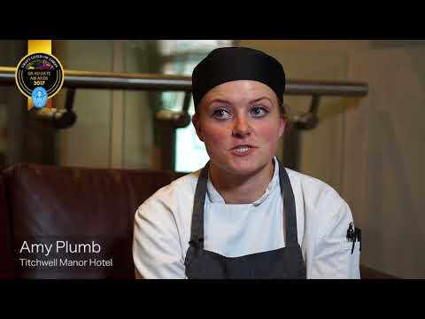 Amy Rose Plumb, chef at Titchwell Manor Hotel