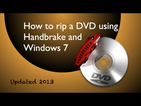 HandBrake tutorial