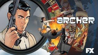 Заставка к мультсериалу Спецагент Арчер / Archer Opening Credits