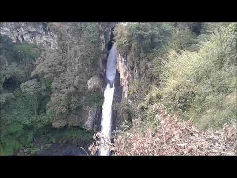 Las cascadas de Texolo en México