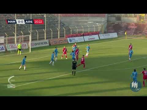 Mantova-Arezzo 2-0, la sintesi della partita