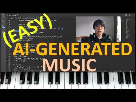 I built an AI to produce music...have a listen!