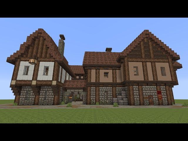 Video Minecraft Fachwerkhäuser - Minecraft mittelalter hauser download