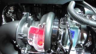 Tokyo Motor Show 2013  A/CLA45AMG(M133)  Twin-Scroll Turbo