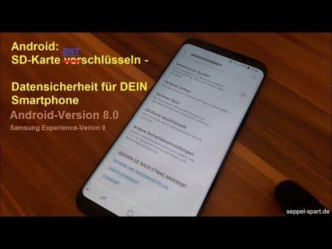 seppel-spart.de - Android 8.0 Oreo: SD-Karte ENTschlüsseln