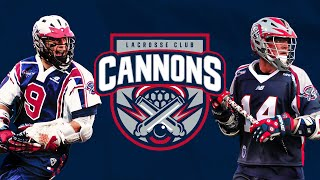THE 8TH TEAM IN THE PLL | Cannons Lacrosse Club