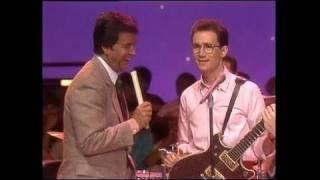 Dick Clark Interviews Marshall Crenshaw - American Bandstand 1983